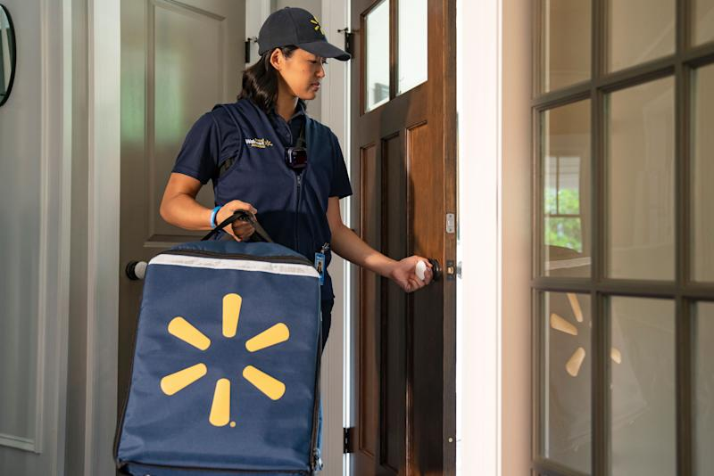 Walmart's InHome Delivery associates will use smart entry technology and a wearable camera to access the customer's home.