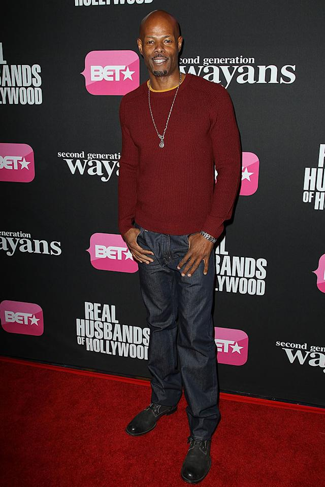 "Keenen Ivory Wayans arrives at the screenings of BET Networks' ""Real Husbands of Hollywood"" and ""Second Generation Wayans"" held at the Regal Cinemas L.A. Live on January 8, 2013 in Los Angeles, California."