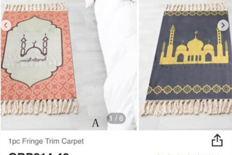Shein Under Fire for Selling Prayer Mats Under 'Fringe Trim Carpets', Pulls Down Product