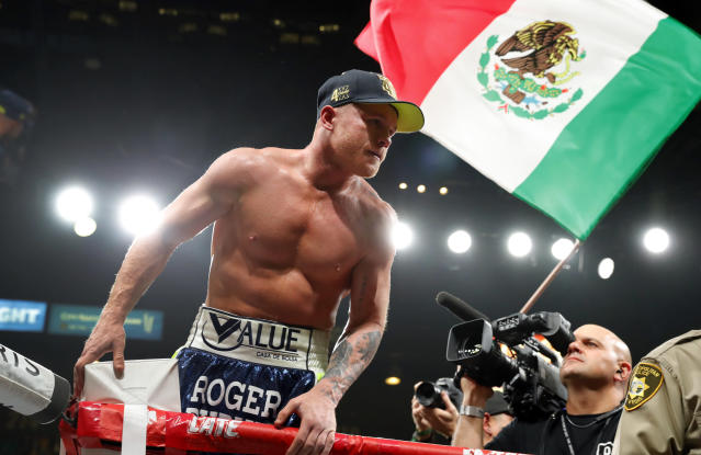 Saúl 'Canelo' Álvarez. (Photo by Steve Marcus/Getty Images)