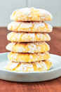 "<p>These cookies have the perfect flavor balance of sweet and sour, and the rich lemon flavor tastes like spring sunshine. </p><p><strong><em>Get the recipe at <a href=""https://www.delish.com/cooking/a19646127/lemon-butter-cookies-recipe/"" rel=""nofollow noopener"" target=""_blank"" data-ylk=""slk:Delish"" class=""link rapid-noclick-resp"">Delish</a>.</em></strong></p>"