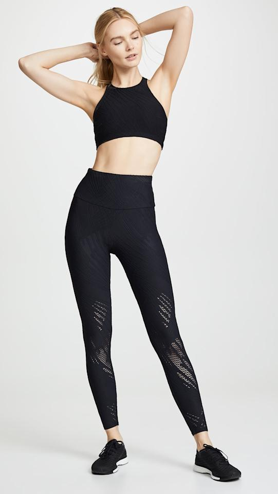 "<p>We love the cutouts on these <a href=""https://www.popsugar.com/buy/Onzie-Selenite-Midi-Leggings-475149?p_name=Onzie%20Selenite%20Midi%20Leggings&retailer=shopbop.com&pid=475149&price=39&evar1=fit%3Aus&evar9=46449799&evar98=https%3A%2F%2Fwww.popsugar.com%2Ffitness%2Fphoto-gallery%2F46449799%2Fimage%2F46449807%2FOnzie-Selenite-Midi-Leggings&list1=shopping%2Cworkout%20clothes%2Csale%2Cleggings%2Csale%20shopping&prop13=api&pdata=1"" rel=""nofollow"" data-shoppable-link=""1"" target=""_blank"" class=""ga-track"" data-ga-category=""Related"" data-ga-label=""https://www.shopbop.com/selenite-midi-leggings-onzie/vp/v=1/1569691833.htm?folderID=15465&amp;fm=other-shopbysize-viewall&amp;os=false&amp;colorId=1071C"" data-ga-action=""In-Line Links"">Onzie Selenite Midi Leggings</a> ($39, originally $65).</p>"