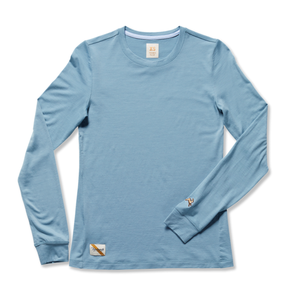 """<h2>Tracksmith Harrier Merino Long-Sleeve</h2><br>For the mom who swears by daily exercise — and can kind of kick your ass on the track, although she is kind enough to keep pace with you when you do go running together — this super-high performing, sweat-wicking merino wool layer is the ultimate in active luxury.<br><br><em>Shop <strong><a href=""""https://www.tracksmith.com/"""" rel=""""nofollow noopener"""" target=""""_blank"""" data-ylk=""""slk:Tracksmith"""" class=""""link rapid-noclick-resp"""">Tracksmith</a></strong></em><br><br><strong>Tracksmith</strong> Harrier Long Sleeve, $, available at <a href=""""https://go.skimresources.com/?id=30283X879131&url=https%3A%2F%2Fwww.tracksmith.com%2Fproducts%2Fw-harrier-long-sleeve-tee"""" rel=""""nofollow noopener"""" target=""""_blank"""" data-ylk=""""slk:Tracksmith"""" class=""""link rapid-noclick-resp"""">Tracksmith</a>"""