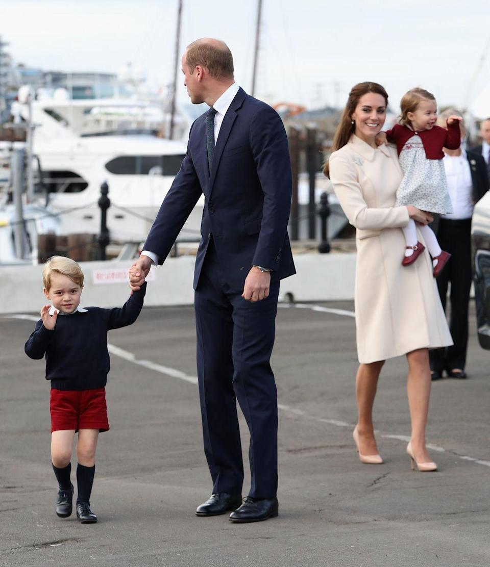 <p>All members of the family have to travel with a black outfit in case someone unexpectedly dies while they are away. Queen Elizabeth instated this protocol after she was caught without a black dress in Africa when her father passed away. </p>