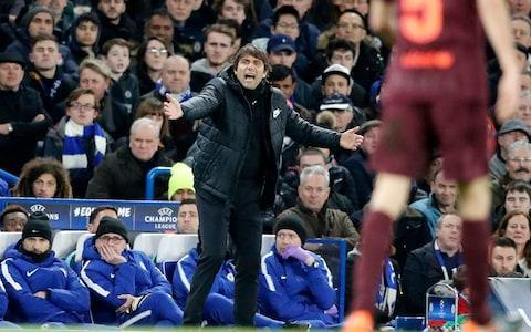 "Antonio Conte has admitted he and the Chelsea board need to settle their differences if he is to see out his contract at the club. He has also suggested that there are already potential jobs for him to take if he leaves Chelsea in the summer. Conte gave a reminder of his coaching ability by guiding Chelsea to a Champions League last-16 first-leg draw against Barcelona, which they almost won. The Italian was back at his energetic best during the game and once again had his name sung by the Stamford Bridge crowd. But the draw was not enough to kill the belief that Conte will not be at Chelsea past this season, following the last two transfer windows in which his relationship with the board has been strained. Asked about his future by Italian media, the 48 year-old said: ""In 14 years, Chelsea have changed coach 10 times, so they do have a tendency to chop and change here. Chelsea vs Barcelona player ratings ""The media also plays on this habit the moment there are negative results. They were already writing headlines about my dismissal after the opening game against Burnley. ""It's no problem for me, in fact I really like pressure. I just hope it doesn't affect the players. ""I said very clearly, I have a contract to 2019. I want to respect it but anything can happen in football. I'm happy here but to move forward with the marriage everyone needs to be in agreement. My intention is to continue. Antonio Conte urges his players on from the sidelines Credit: AP ""In our line of work, we always have a bag packed. My intention is to remain here, but if something were to change, there would be several different scenarios opening up."" Conte has already been linked with Paris Saint-Germain, both Milan clubs and a return to coach the Italian national team. Chelsea's performance against Barcelona may have added to that list of admirers. Willian scored Chelsea's goal against Barcelona and the Brazilian believes the team's Champions League group stage victory over Atletico Madrid proves they can get the required result in the Nou Camp on March 14. Chelsea won 2-1 in Madrid in September and Willian said: ""We can go there (to the Nou Camp) and do a great job again. It will be a completely different game, to play there is different. But if we go with the same mentality as we did against Atletico, we can go there with great spirit and win the game. ""Of course, the result against Atletico gives us confidence. To play these games is totally different, but we want to play big games like this one. It's really important. We tried to win here and now we must go to the Camp Nou. It will be totally different, we must play with the same mentality, prepare well. If we do well, we can win the game there."" With Chelsea now facing back-to-back Premier League games against Manchester United and Manchester City, Conte has challenged Willian to maintain the level he achieved on Tuesday night. ""These are difficult games,"" said Willian. ""It is totally different to play in the Premier League to Champions League. I think we can stay at this level and we can go to Old Trafford on Sunday and play another great game. We have to play in a similar way."" Jose Mourinho was interested in trying to take Willian to United last summer, but the 29 year-old is now aiming to net a hat-trick against his former manager. Willian scored twice against Hull City in the FA Cup and hit both posts as well as scoring against Barcelona. Asked if he is now ready to complete a treble against United, Willian replied: ""It's coming, it's coming (a hat-trick). I'm always ready to score goals. I think the hat-trick is coming soon. I just have to continue to do my job on the pitch. ""He (Mourinho) is my friend. I had a great time with him, but I am at Chelsea and he is now at Manchester United."""