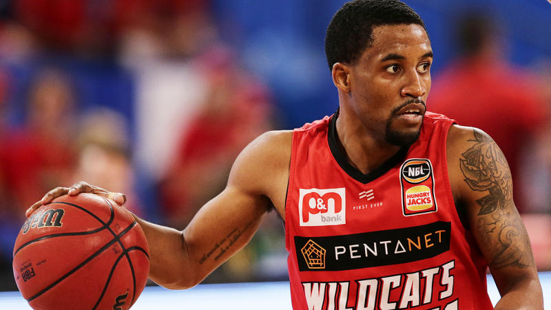 Perth import Bryce Cotton was named NBL grand finals MVP, while the Wildcats were awarded the championship after leading the series 2-1 when play was suspended. (Photo by Will Russell/Getty Images)