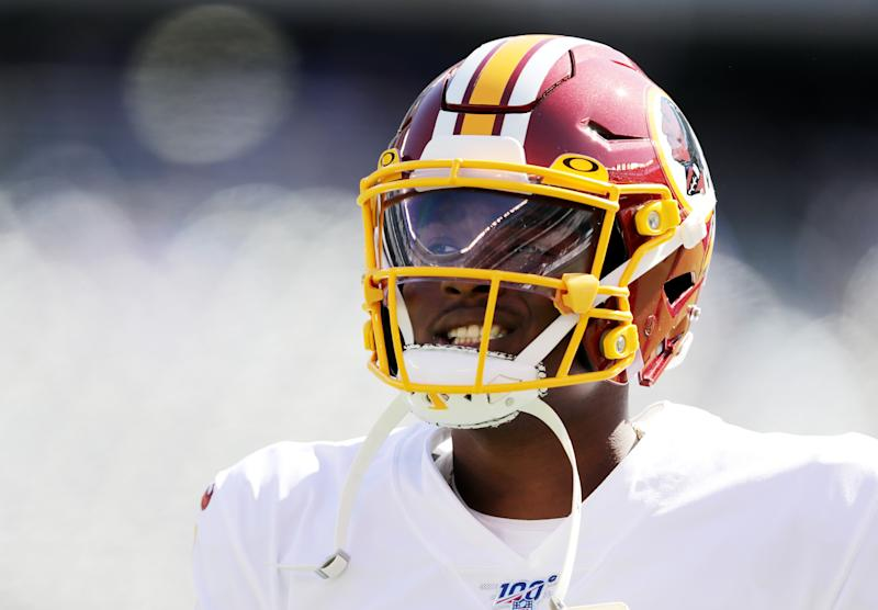 Washington gave rookie Dwayne Haskins Jr. his shot on Sunday, down 14-0 to the New York Giants. (Getty Images)