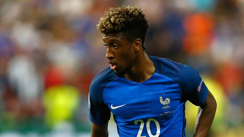 France winger Coman ruled out of Iceland clash