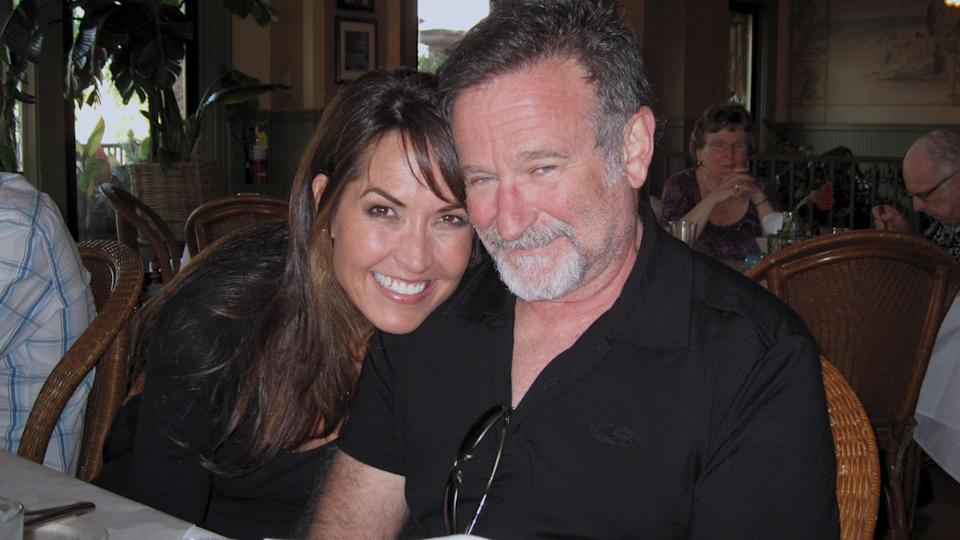 Susan Schneider Williams and Robin Williams. (Vertical Entertainment)