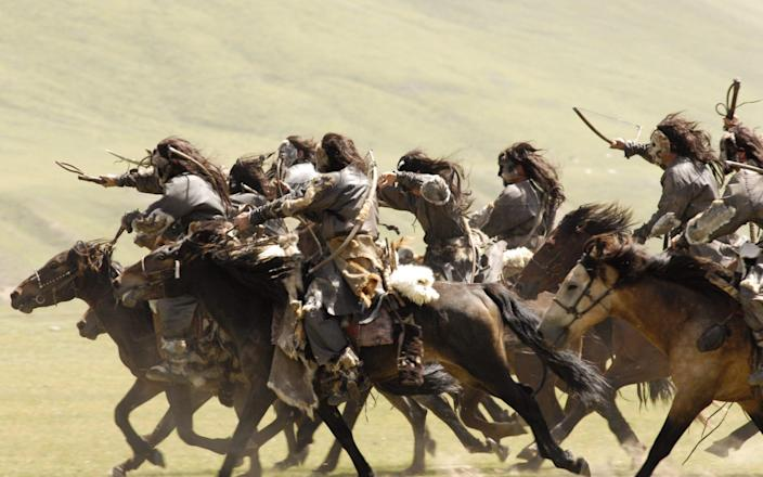 At its height, Genghis Khan's Mongol empire covered much of China, and indeed much of the Asian continent - Film Stills