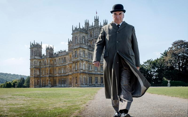 Jim Carter as Charles Carson in Downton Abbey - Digital / 35mm