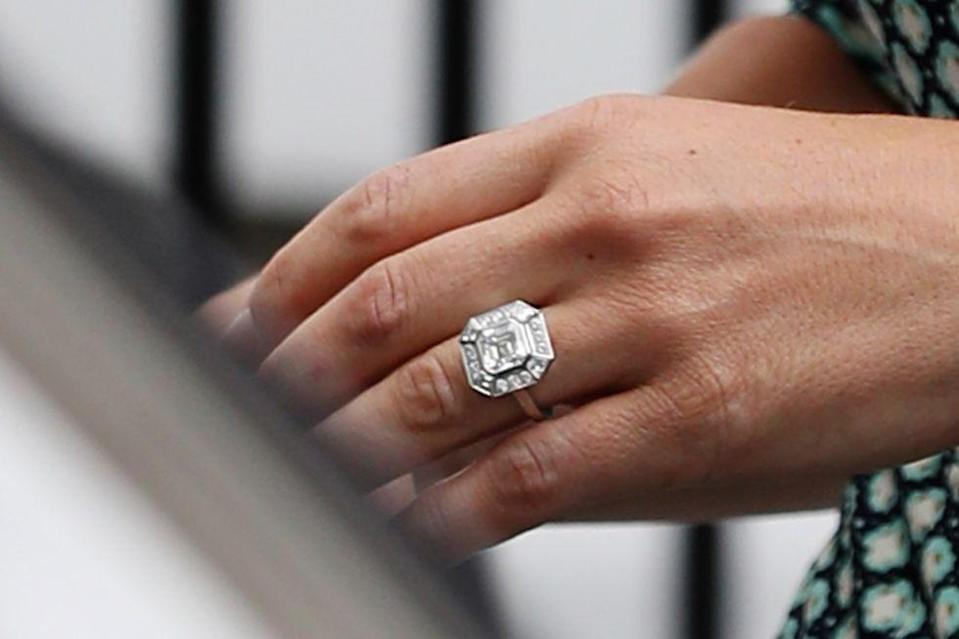 "<p>Asscher cut diamonds were one of the most popular styles in the 1920s. Invented in 1902 <a href=""https://blog.brilliance.com/diamonds/the-history-of-the-asscher-cut-diamond"" rel=""nofollow noopener"" target=""_blank"" data-ylk=""slk:by the Asscher family"" class=""link rapid-noclick-resp"">by the Asscher family</a>, the patented cut is similar to an emerald cut, but is wider set and features larger step facets to make the diamond appear more brilliant.</p>"
