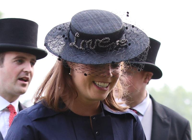 Princess Eugenie Wears Meghan Markle's Engagement Shoes