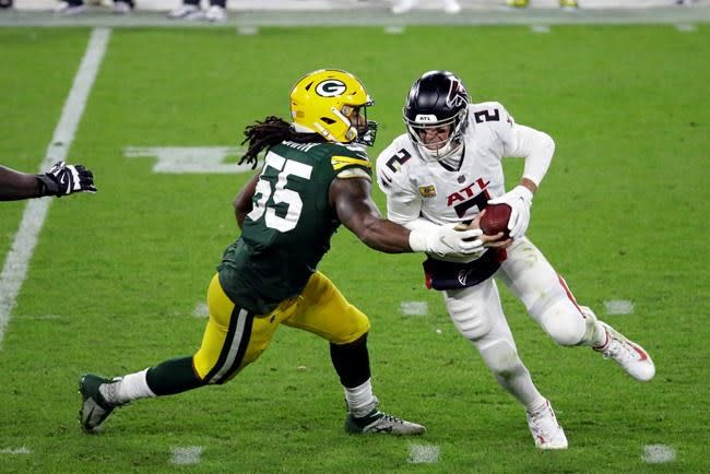 Quinn still searching for ways to end slide with 0-4 Falcons