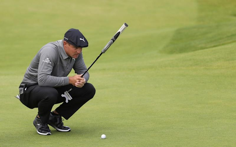 Bryson DeChambeau found himself in hot water recently over his slow play - AP