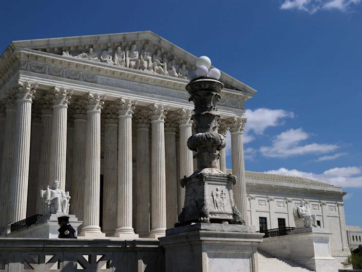 Toilet sounds could be heard during a Supreme Court call on Wednesday: REUTERS