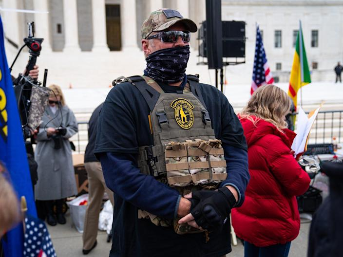 Oath Keepers capitol riot insurrection siege