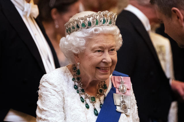 Queen Elizabeth II has had to stay in isolation for several weeks. (Getty Images)