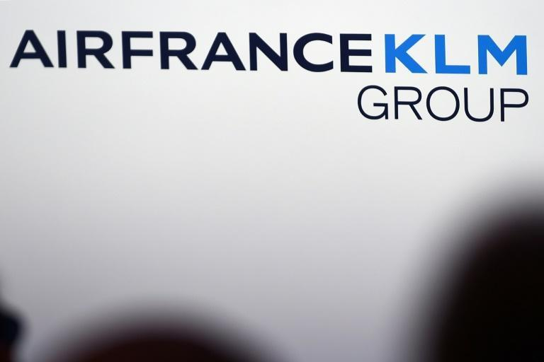 El logo del grupo Air France - KLM