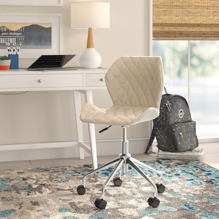 """<h2>Wrought Studio Warminster Task Chair</h2><br>The Warminster Task Chair is ready to give your home office a style upgrade without destroying your budget. Its contemporary style and diamond-tufted details make it the perfect accent to a workspace in need of a little pizzazz. <br><br><strong>The Hype</strong>: 4.6 out of 5 stars and 3,060 reviews<br><br><strong>WFH Pros Say:</strong> """"Easily upgraded my home office with this beauty! Stylish, comfortable, and affordable! The perfect package. I love how smoothly this chair rolls across my wood floors.""""<br><br><em>Shop</em> <strong><em><a href=""""https://www.wayfair.com/brand/bnd/wrought-studio-b36987.html"""" rel=""""nofollow noopener"""" target=""""_blank"""" data-ylk=""""slk:Wrought Studio"""" class=""""link rapid-noclick-resp"""">Wrought Studio</a></em></strong><br><br><strong>Wrought Studio</strong> Warminster Task Chair, $, available at <a href=""""https://go.skimresources.com/?id=30283X879131&url=https%3A%2F%2Fwww.wayfair.com%2Ffurniture%2Fpdp%2Fwrought-studio-warminster-task-chair-w005930001.html"""" rel=""""nofollow noopener"""" target=""""_blank"""" data-ylk=""""slk:Wayfair"""" class=""""link rapid-noclick-resp"""">Wayfair</a>"""