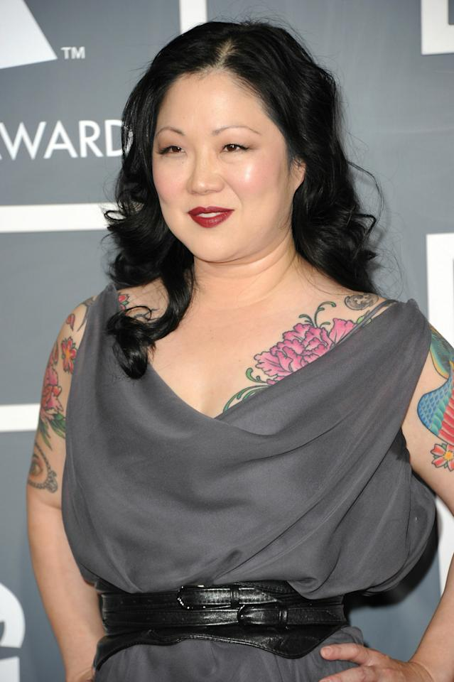 LOS ANGELES, CA - FEBRUARY 13:  Comedian Margaret Cho arrives at The 53rd Annual GRAMMY Awards held at Staples Center on February 13, 2011 in Los Angeles, California.  (Photo by Jason Merritt/Getty Images)