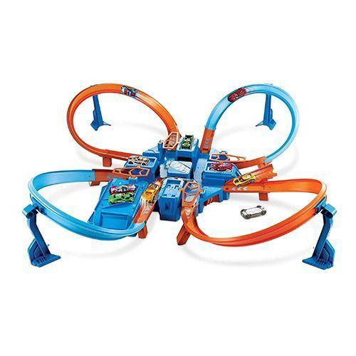 """<p><strong>Hot Wheels</strong></p><p>kohls.com</p><p><strong>$47.99</strong></p><p><a href=""""https://go.redirectingat.com?id=74968X1596630&url=https%3A%2F%2Fwww.kohls.com%2Fproduct%2Fprd-2635064%2Fhot-wheels-criss-cross-crash-track-set-by-mattel.jsp&sref=https%3A%2F%2Fwww.goodhousekeeping.com%2Fchildrens-products%2Ftoy-reviews%2Fg26859132%2Fbest-gifts-for-5-year-old-boys%2F"""" rel=""""nofollow noopener"""" target=""""_blank"""" data-ylk=""""slk:Shop Now"""" class=""""link rapid-noclick-resp"""">Shop Now</a></p><p>All four paths collide in the crash zone in this fun Hot Wheels set that's <strong>made of 16 feet of track</strong>. Thanks to all the twists and turns, the set won't take up too much space even though it's lengthy. Plus, there are plenty of parking spaces to conveniently store extra <a href=""""https://www.amazon.com/Hot-Wheels-9-Car-Gift-Styles/dp/B006EFMSSM/?tag=syn-yahoo-20&ascsubtag=%5Bartid%7C10055.g.26859132%5Bsrc%7Cyahoo-us"""" rel=""""nofollow noopener"""" target=""""_blank"""" data-ylk=""""slk:Hot Wheels vehicles"""" class=""""link rapid-noclick-resp"""">Hot Wheels vehicles</a>. It's great for fostering curiosity and developing problem-solving skills while still playing and having fun. <em>Ages 4+</em></p>"""