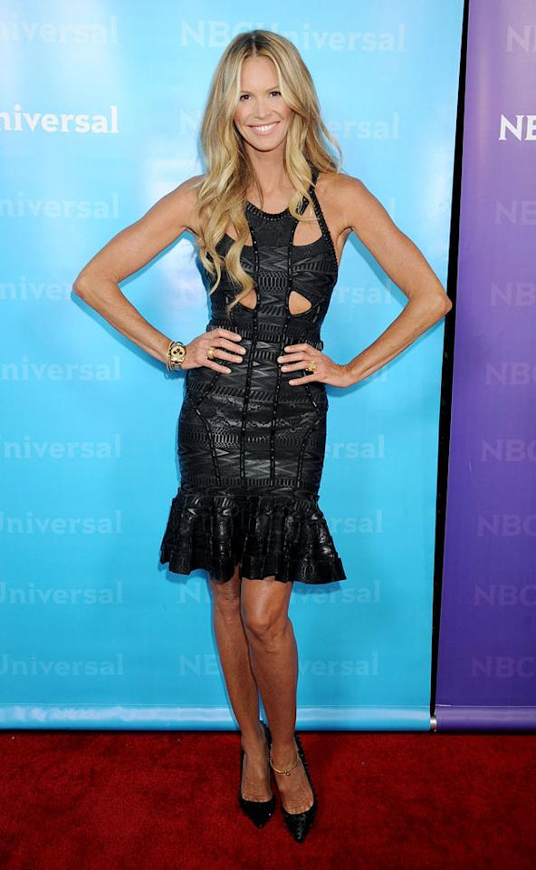 "<a href=""/elle-macpherson/contributor/30359"">Elle Macpherson</a> (""<a href=""/fashion-star/show/47285"">Fashion Star</a>"") attends the 2012 NBC Universal Winter TCA All-Star Party at The Athenaeum on January 6, 2012 in Pasadena, California."