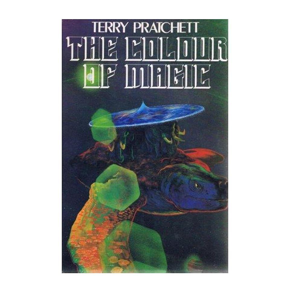 """<p><strong>$9.06 </strong><a class=""""link rapid-noclick-resp"""" href=""""https://www.amazon.com/Color-Magic-Discworld-Terry-Pratchett/dp/0062225677?tag=syn-yahoo-20&ascsubtag=%5Bartid%7C10054.g.35036418%5Bsrc%7Cyahoo-us"""" rel=""""nofollow noopener"""" target=""""_blank"""" data-ylk=""""slk:BUY NOW"""">BUY NOW</a></p><p><strong>Genre:</strong> Fantasy<br></p><p>Selling over 80 million copies worldwide, this mystical series shares the adventures of tourist Twoflower and wizard guide Rincewind as they navigate the surface of the Discworld, a planet-sized disc carried through space on the backs of elephants.</p>"""