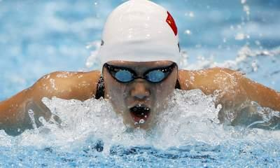 Row Erupts Over Chinese Swimming Sensation