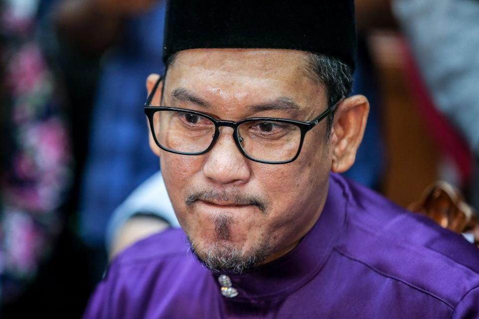 State Bersatu chief Datuk Seri Ahmad Faizal Azumu and his PAS counterpart in a joint statement said that they have also formed the manifesto committee for the Perak Perikatan Nasional (PN). — Picture by Farhan Najib