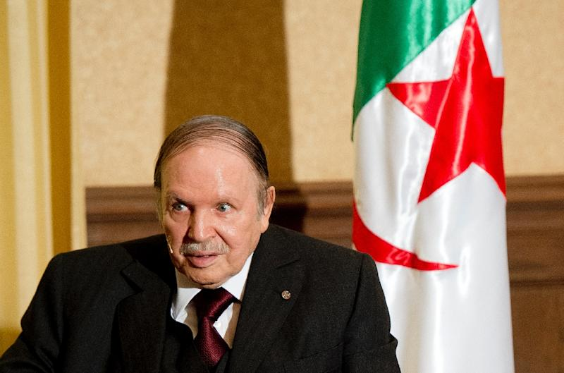 Algerian President Abdelaziz Bouteflika first proposed an amnesty for rebels, after he was elected in 1999 (AFP Photo/Alain Jocard)