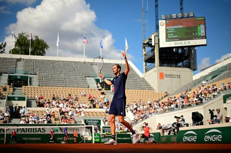 Daniil Medvedev had not won a match at the French Open before this year's tournament