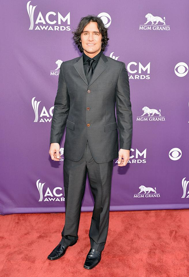 LAS VEGAS, NV - APRIL 07:  Singer Joe Nichols attends the 48th Annual Academy of Country Music Awards at the MGM Grand Garden Arena on April 7, 2013 in Las Vegas, Nevada.  (Photo by Rick Diamond/ACMA2013/Getty Images for ACM)