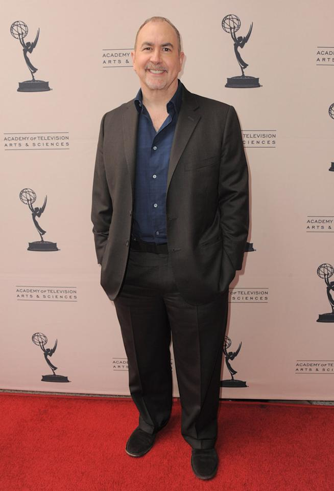 """Terence Winter arrives at The Academy of Television Arts & Sciences Presents An Evening With """"<a href=""""http://tv.yahoo.com/boardwalk-empire/show/41428"""">Boardwalk Empire</a>"""" event at Leonard H. Goldenson Theatre on April 26, 2012 in North Hollywood, California."""