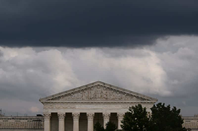 With two cases, shorthanded U.S. Supreme Court opens new term amid drama