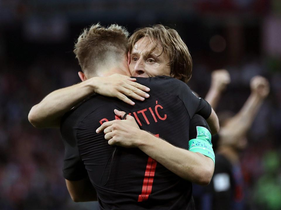 England must stop Luka Modric and Ivan Rakitic to reach the World Cup final, the Clasico axis around which Croatia spin