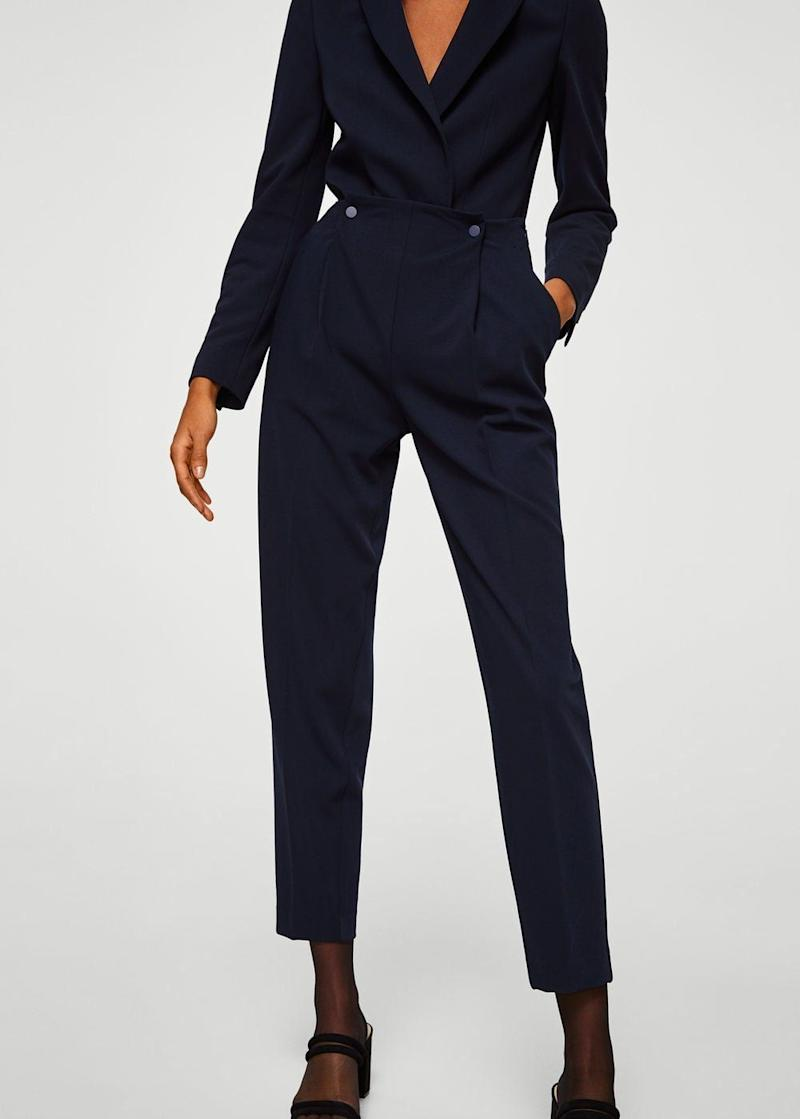 "Get them at <a href=""https://shop.mango.com/us/women/pants-straight/pleat-detail-trousers_21095012.html?c=69&n=1&s=prendas.familia;26,326"" target=""_blank"">Mango</a>, $80."