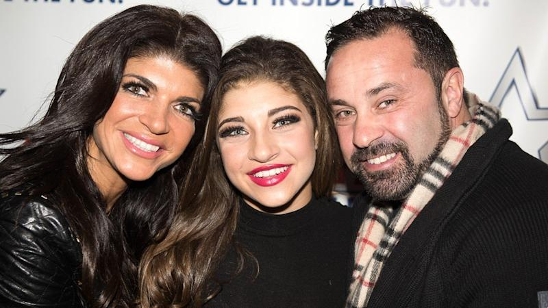 Joe Giudice Enjoys Christmas Reunion With His Daughters in Italy Following Split From Wife Teresa