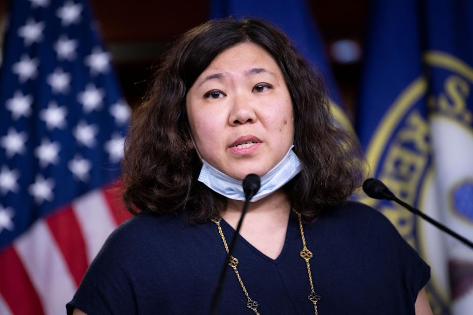 Rep. Grace Meng (D-N.Y.) says a stall on Neera Tanden's nomination would be a blow to the Asian American community. (Photo: Caroline Brehman/CQ-Roll Call, Inc via Getty Images)