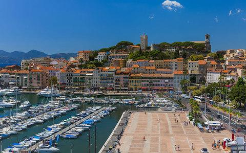 The Cannes waterfront - Credit: AP