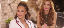 "<p>From Chrishell Stause's divorce to Heather Rae Young and Davina Potratz's conflict, there's no shortage of drama between the cast members—and it <em>is </em>real, people. ""The show isn't scripted. If it was, I would be pissed! Who wrote that plot twist?!"" Chrishell said on <a href=""https://www.buzzfeed.com/elliewoodward/chrishell-stause-selling-sunset-secrets-davina-reaction"" rel=""nofollow noopener"" target=""_blank"" data-ylk=""slk:Instagram"" class=""link rapid-noclick-resp"">Instagram</a> in reference to her divorce from <em>This Is Us </em>actor Justin Hartley.</p>"