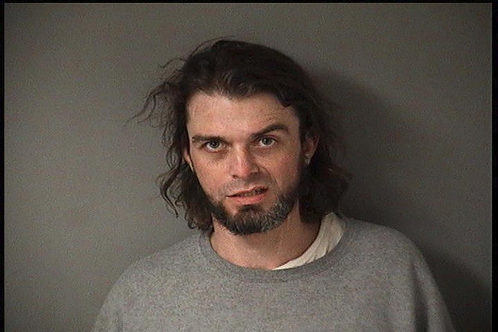 This undated photo provided by the Fulton County Sheriff's Department in Lewistown, Ill. shows Zachary Hart. Hart and three other inmates escaped from the Fulton County Jail in Lewistown on Wednesday, July 7, 2021. Authorities didn't immediately say how the men escaped, but said they should be considered armed and dangerous. (Fulton County Sheriff's Department via AP)