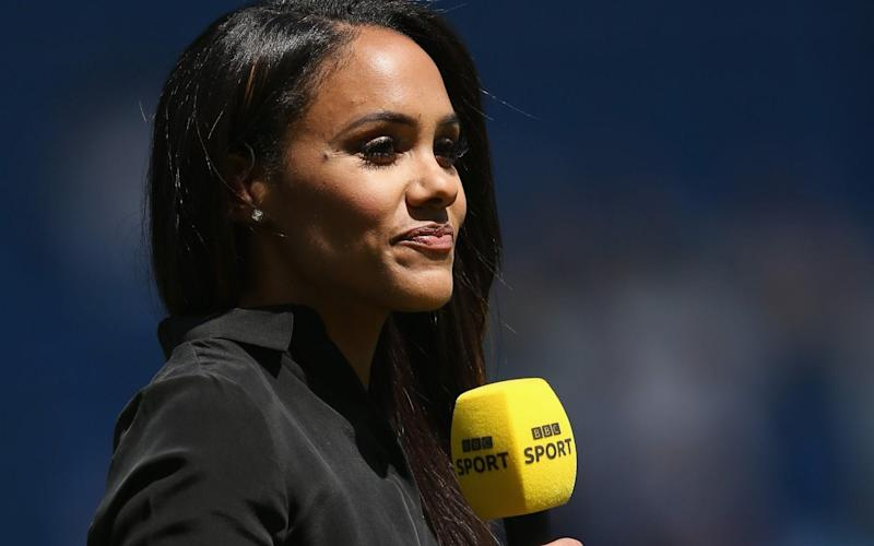 Alex Scott is arguably the star player of the BBC coverage for the World Cup - Getty Images Europe