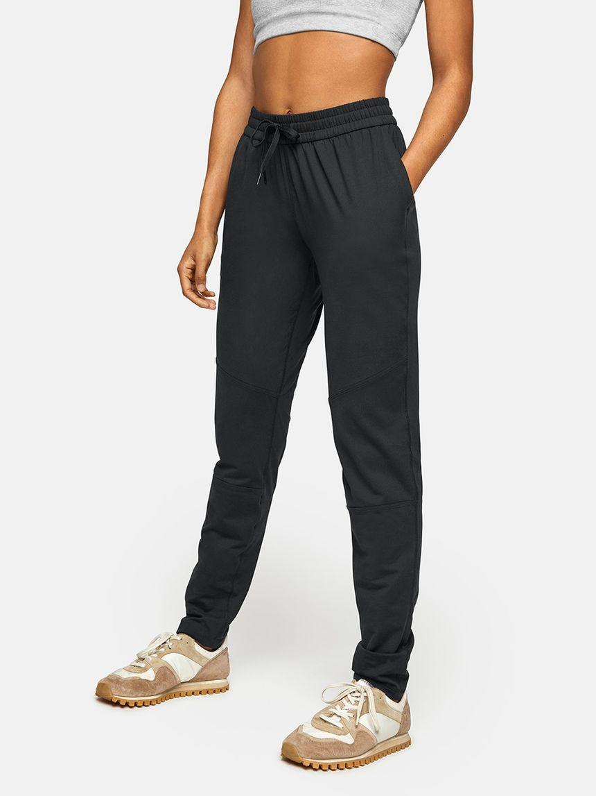 The All Day Sweatpant in Black. Image via Outdoor Voices.