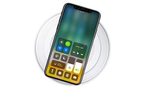 iPhone 8 charging pad - Credit: Benjamin Geskin