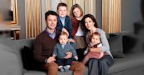 <p>Mary and Frederik also shared adorable throwback photos of their family to mark Christian's confirmation. Like this family photo taken in 2005. Photo: Instagram/detdanskekongehus</p>
