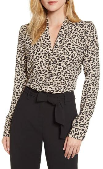 V-Neck Top - Halogen, Nordstrom, $35 (originally $59)