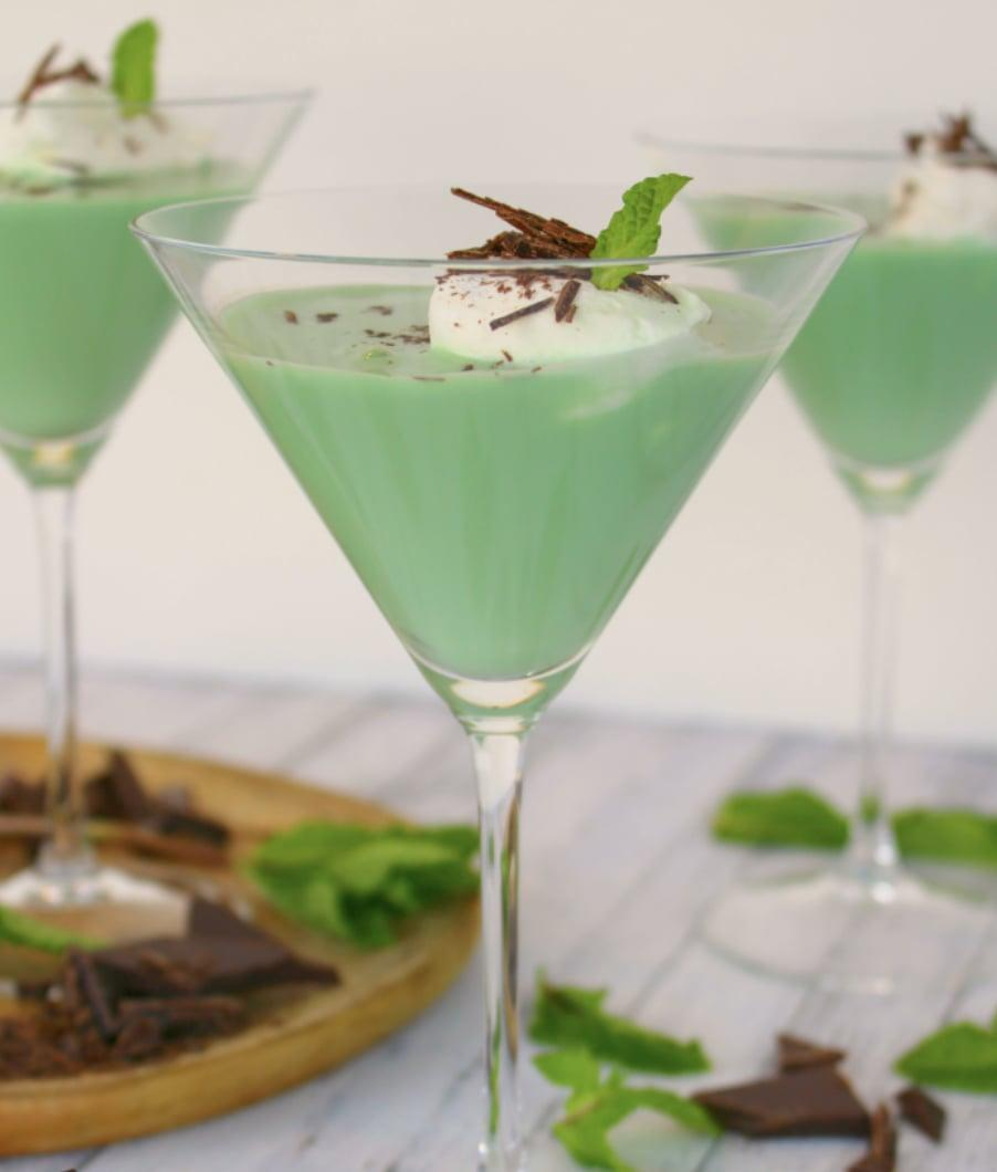 """<p>Did someone say mint chocolate martini? Sign. us. UP. With whipped cream-flavored vodka and minty morsels, you won't be able to get enough.</p> <p><strong>Get the recipe</strong>: <a href=""""https://www.popsugar.com/buy?url=https%3A%2F%2Fdelightfulemade.com%2F2016%2F02%2F19%2Fmint-chocolate-martini%2F&p_name=grasshopper&retailer=delightfulemade.com&evar1=yum%3Aus&evar9=47471653&evar98=https%3A%2F%2Fwww.popsugar.com%2Ffood%2Fphoto-gallery%2F47471653%2Fimage%2F47475355%2FWisconsin-Grasshopper&list1=cocktails%2Cdrinks%2Calcohol%2Crecipes&prop13=api&pdata=1"""" class=""""link rapid-noclick-resp"""" rel=""""nofollow noopener"""" target=""""_blank"""" data-ylk=""""slk:grasshopper"""">grasshopper</a></p>"""