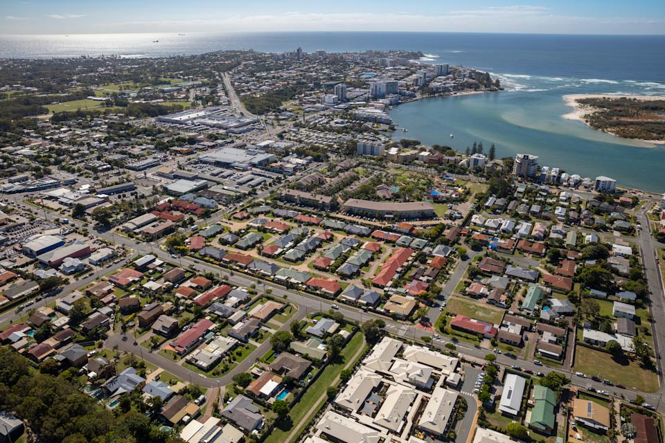 Seaside suburbs are at great risk from climate change. Image: Getty