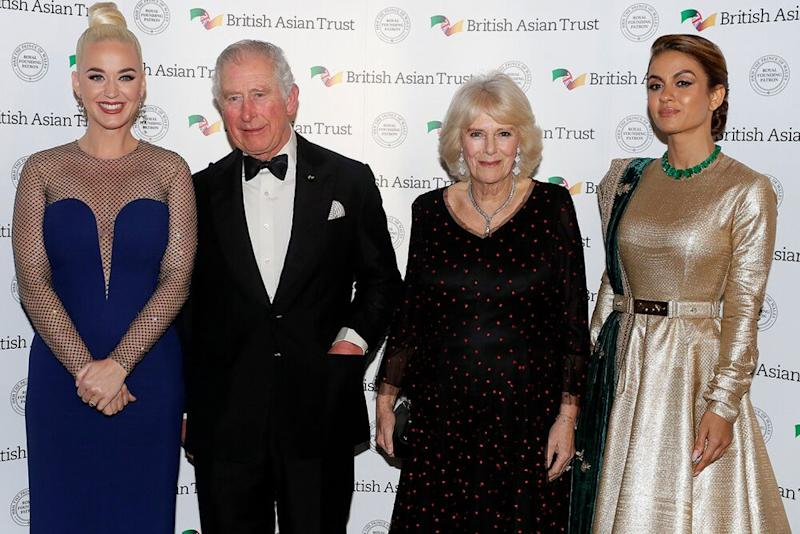 Singer Katy Perry named Asian charity ambassador by Britain's Prince Charles